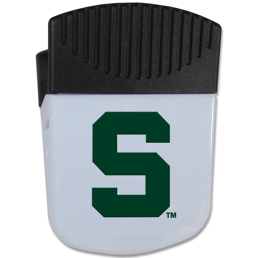 Michigan St. Spartans Chip Clip Magnet With Bottle Opener