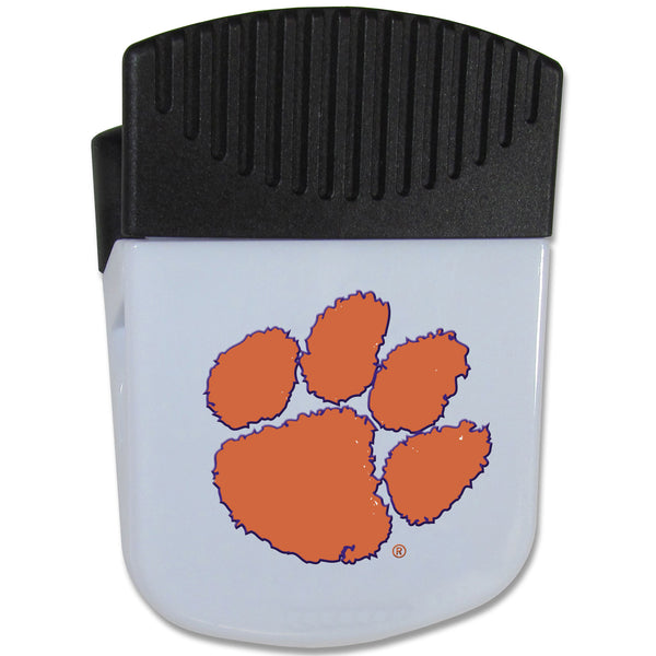 Clemson Tigers Chip Clip Magnet With Bottle Opener