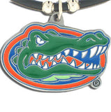 Florida Gators Rubber Cord Necklace