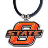 Oklahoma State Cowboys Rubber Cord Necklace
