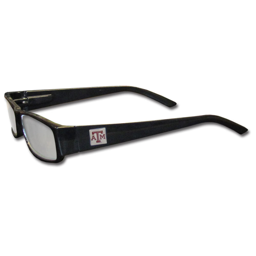 Texas A & M Aggies Black Reading Glasses +2.50