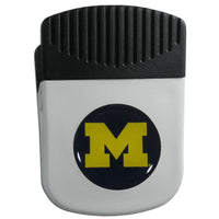 Michigan Wolverines Chip Clip Magnet With Bottle Opener