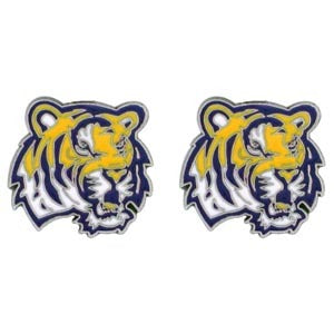 LSU Tigers Stud Earrings