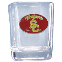 USC Trojans Square Shot Glass