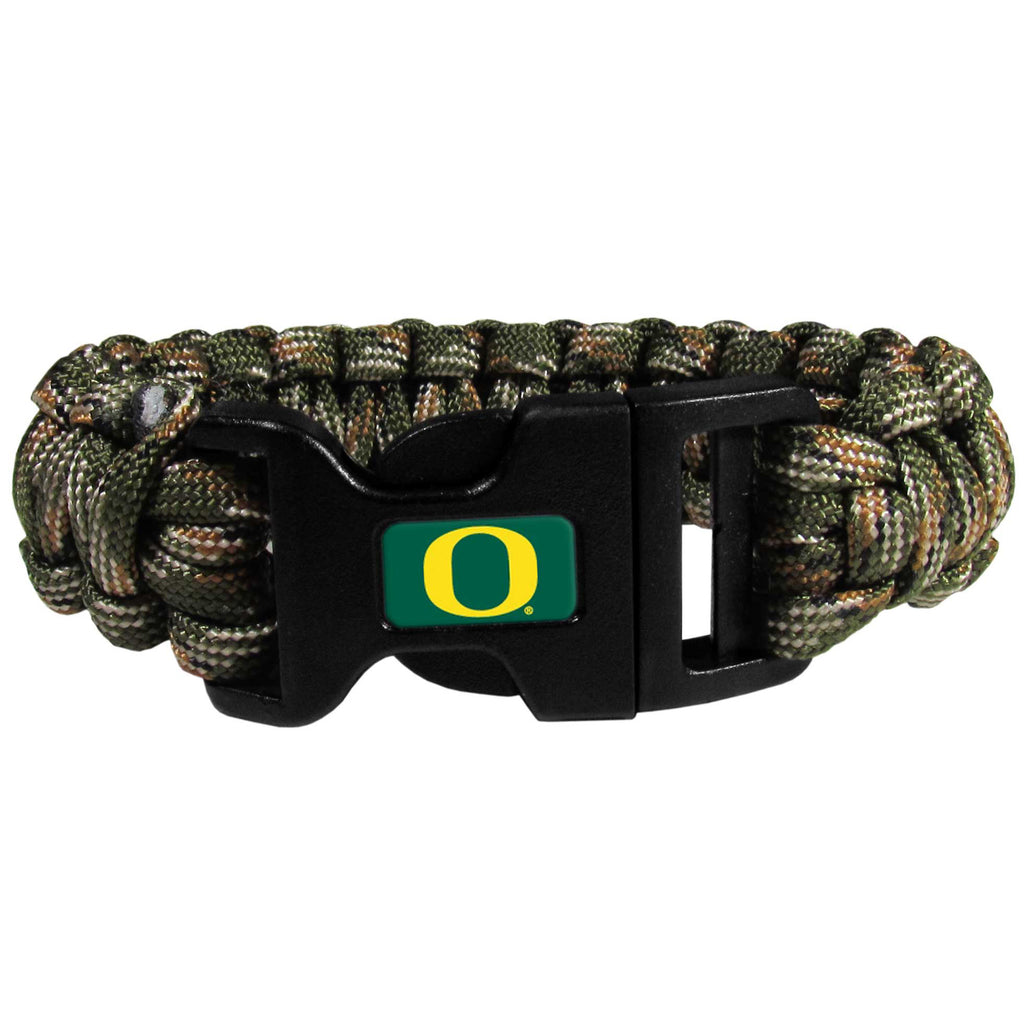 Oregon Ducks Camo Survivor Bracelet