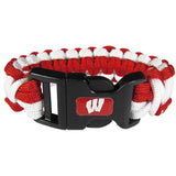 Wisconsin Badgers Survivor Bracelet