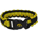 Iowa Hawkeyes Survivor Bracelet