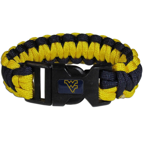 W. Virginia Mountaineers Survivor Bracelet