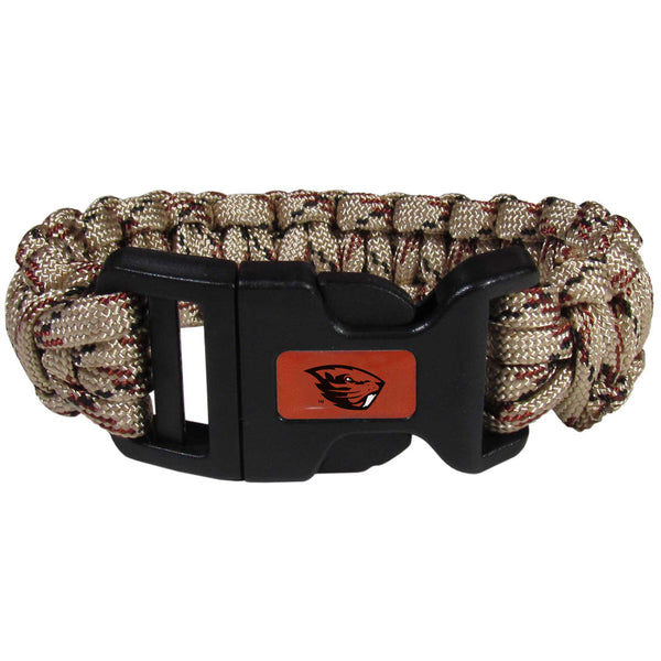 Oregon St. Beavers Camo Survivor Bracelet