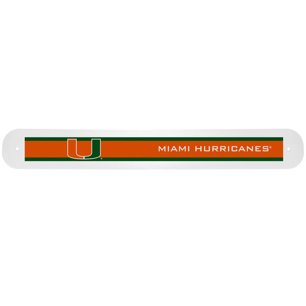 Miami Hurricanes Travel Toothbrush Case