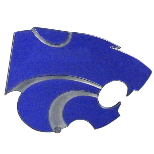 Kansas St. Wildcats Hitch Cover Class II and Class III Metal Plugs