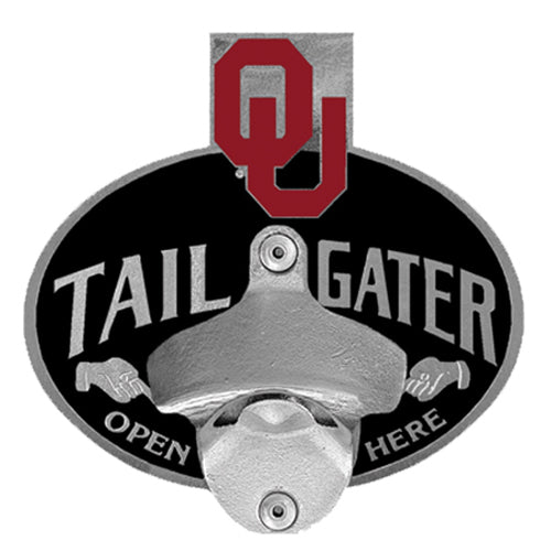 Oklahoma Sooners Tailgater Hitch Cover Class III