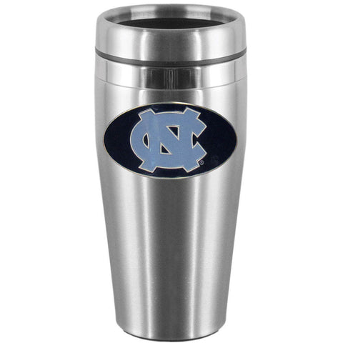 N. Carolina Tar Heels Steel Travel Mug