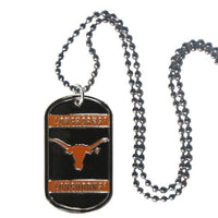 Texas Longhorns Tag Necklace