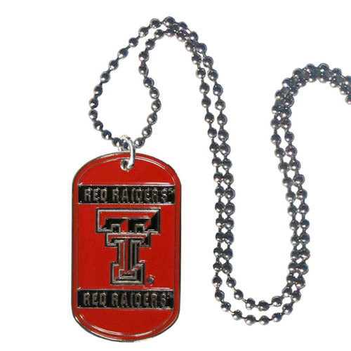 Texas Tech Raiders Tag Necklace