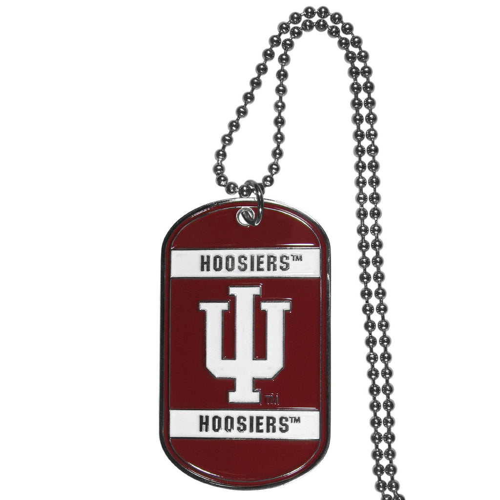 Indiana Hoosiers Tag Necklace