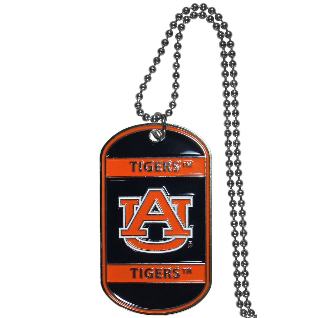 Auburn Tigers Tag Necklace