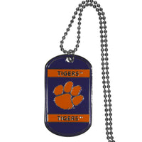 Clemson Tigers Tag Necklace