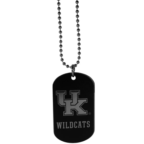 Kentucky Wildcats Chrome Tag Necklace