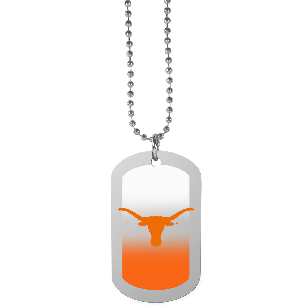 Texas Longhorns Team Tag Necklace