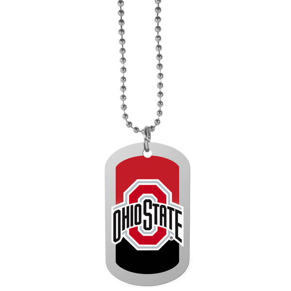 Ohio St. Buckeyes Team Tag Necklace
