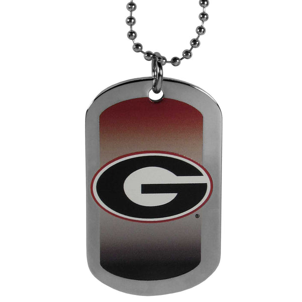 Georgia Bulldogs Team Tag Necklace