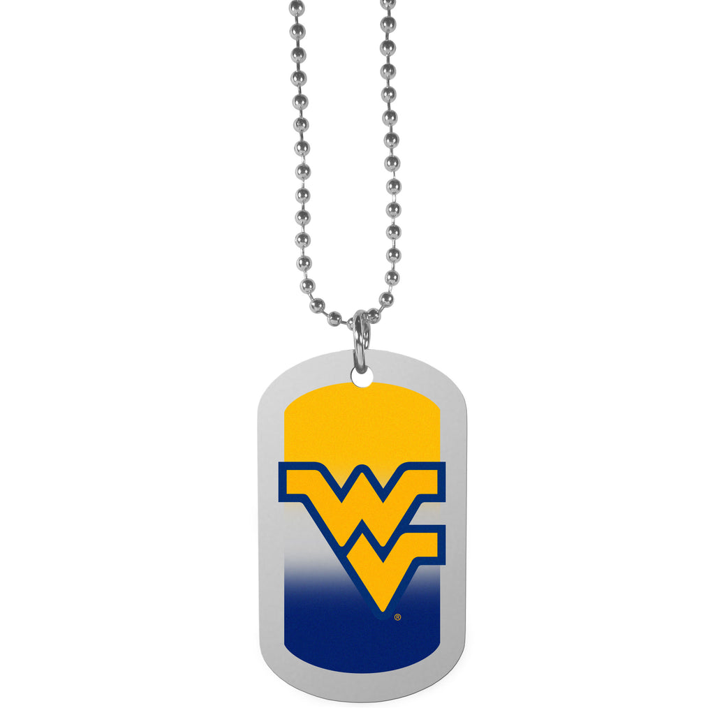 W. Virginia Mountaineers Team Tag Necklace