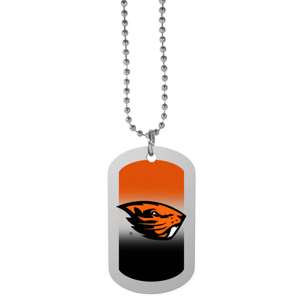 Oregon St. Beavers Team Tag Necklace
