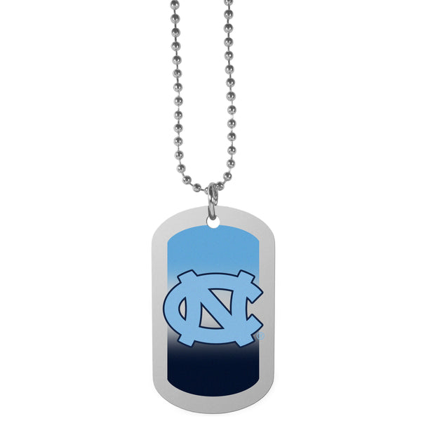 N. Carolina Tar Heels Team Tag Necklace