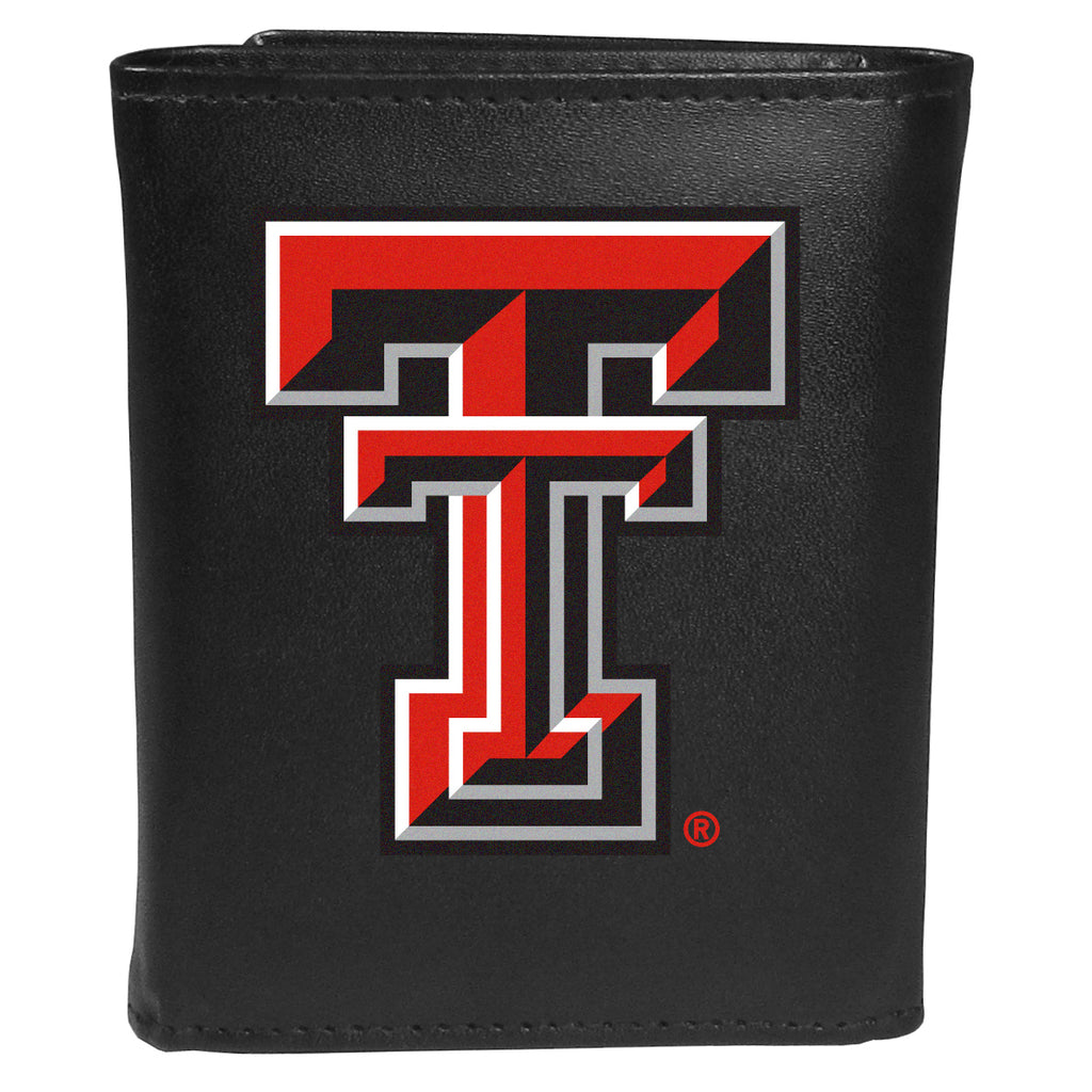 Texas Tech Raiders Tri-fold Wallet Large Logo