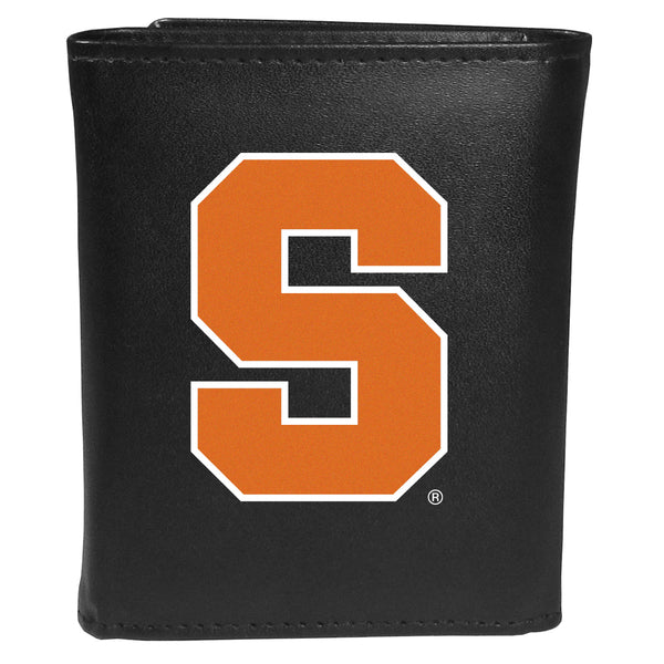 Syracuse Orange Tri-fold Wallet Large Logo