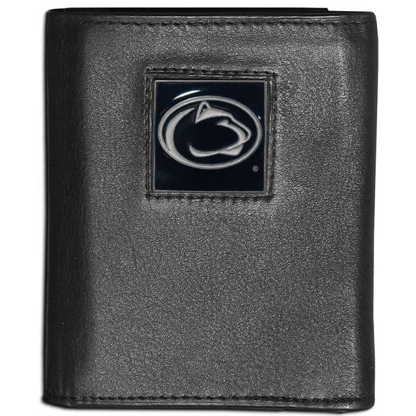 Penn St. Nittany Lions Leather Tri-fold Wallet