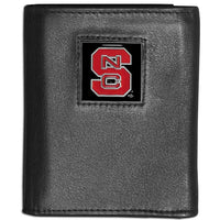 N. Carolina St. Wolfpack Leather Tri-fold Wallet