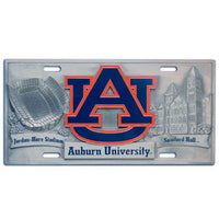Auburn Tigers Collector's License Plate