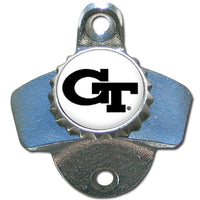 Georgia Tech Yellow Jackets Wall Mounted Bottle Opener