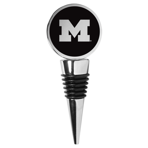 Michigan Wolverines Wine Stopper