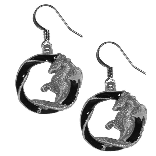 Dragon Dangle Earrings