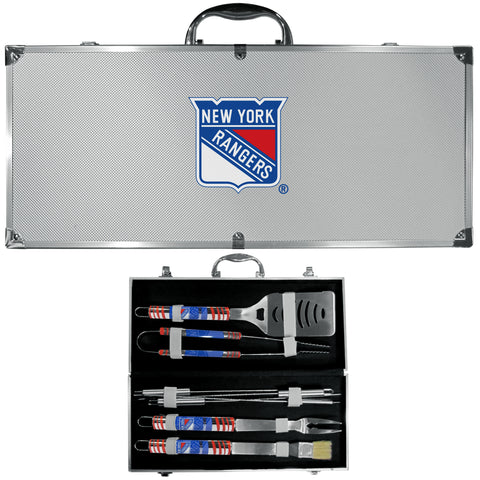 New York Rangers? 8 pc Tailgater BBQ Set