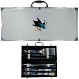 San Jose Sharks? 8 pc Tailgater BBQ Set