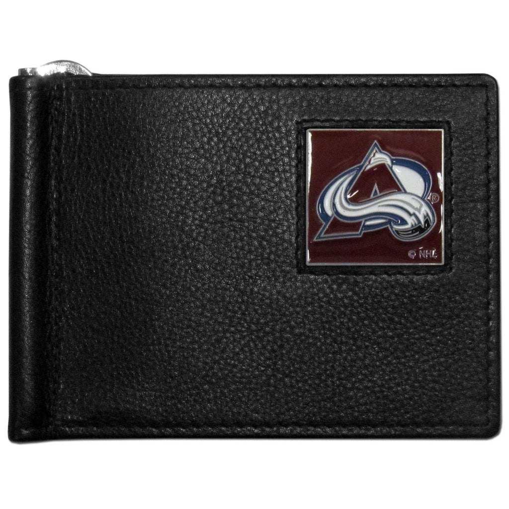 Colorado Avalanche? Leather Bill Clip Wallet
