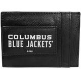 Columbus Blue Jackets? Logo Leather Cash and Cardholder