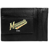 Minnesota Wild? Logo Leather Cash and Cardholder
