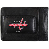 Washington Capitals? Logo Leather Cash and Cardholder