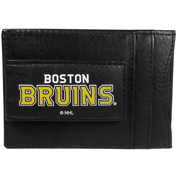 Boston Bruins? Logo Leather Cash and Cardholder