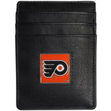 Philadelphia Flyers? Leather Money Clip/Cardholder Packaged in Gift Box