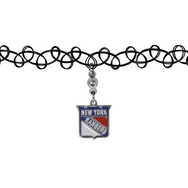 New York Rangers? Knotted Choker