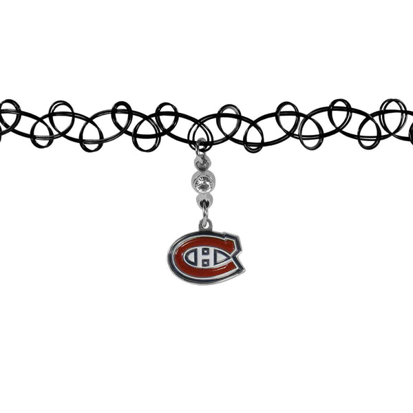 Montreal Canadiens? Knotted Choker