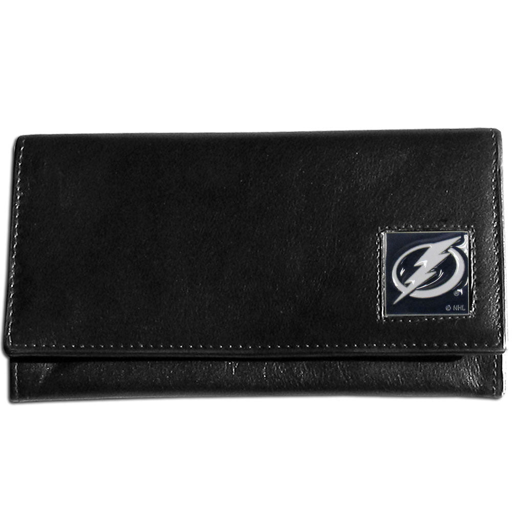 Tampa Bay Lightning? Leather Women's Wallet