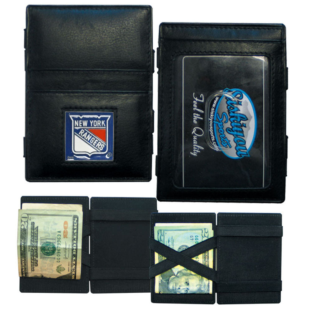 New York Rangers? Leather Jacob's Ladder Wallet
