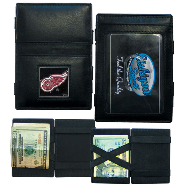 Detroit Red Wings? Leather Jacob's Ladder Wallet